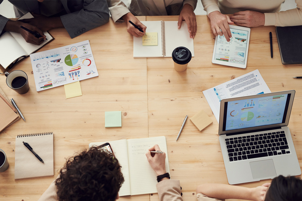 Online marketing brainstorming